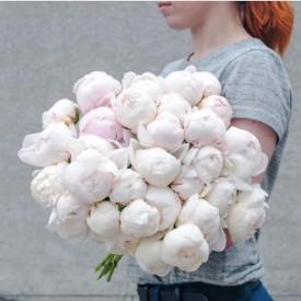 35 белых шариков